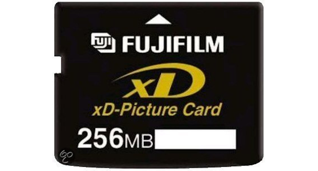 Fuji Film XD card 256MB