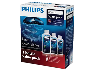Philips HQ203/50 Jet Clean-Oplossing 3-pack