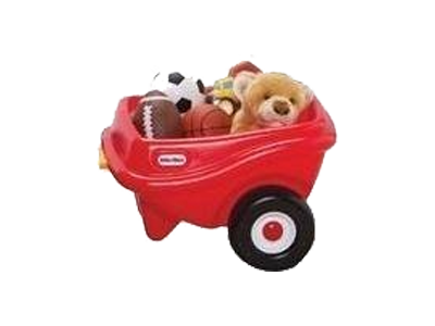 Little Tikes Cozy Coupe Aanhangwagen Rood