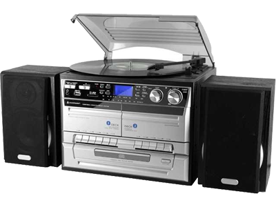 Soundmaster MCD 4500 USB Radio Grijs Black