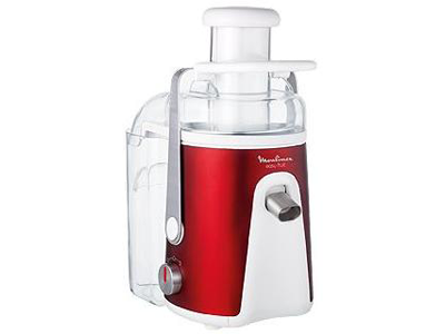 Moulinex Easy Fruit Red Ruby JU585G Sapcentrifuge Rood DEMO
