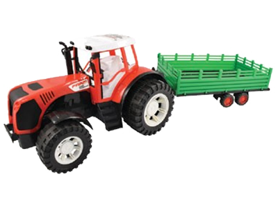 Team Power Tractor met Aanhanger
