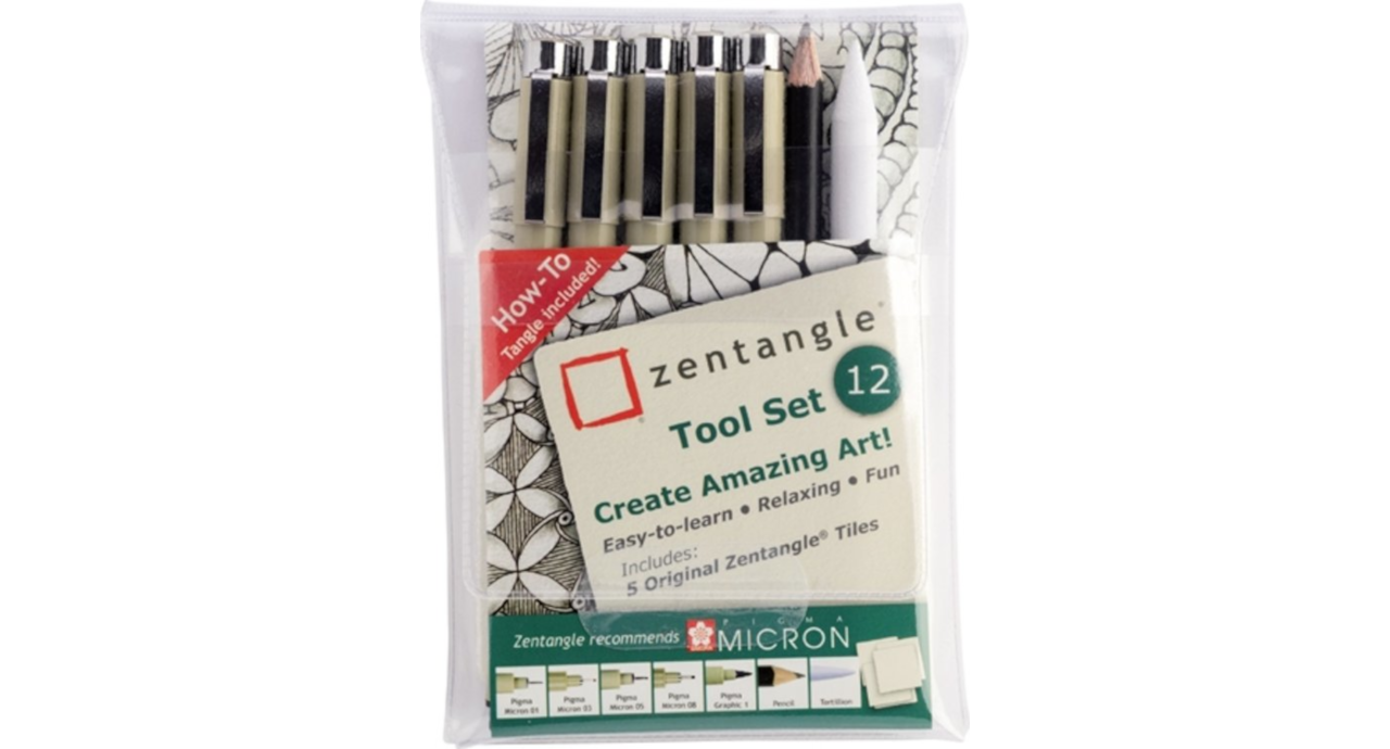 Sakura ZENTANGLE TOOL 12DLG