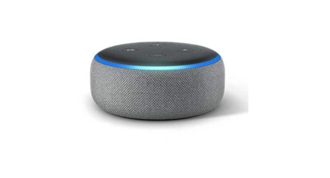 Amazon Echo Dot (3e generatie) Licht Grijs