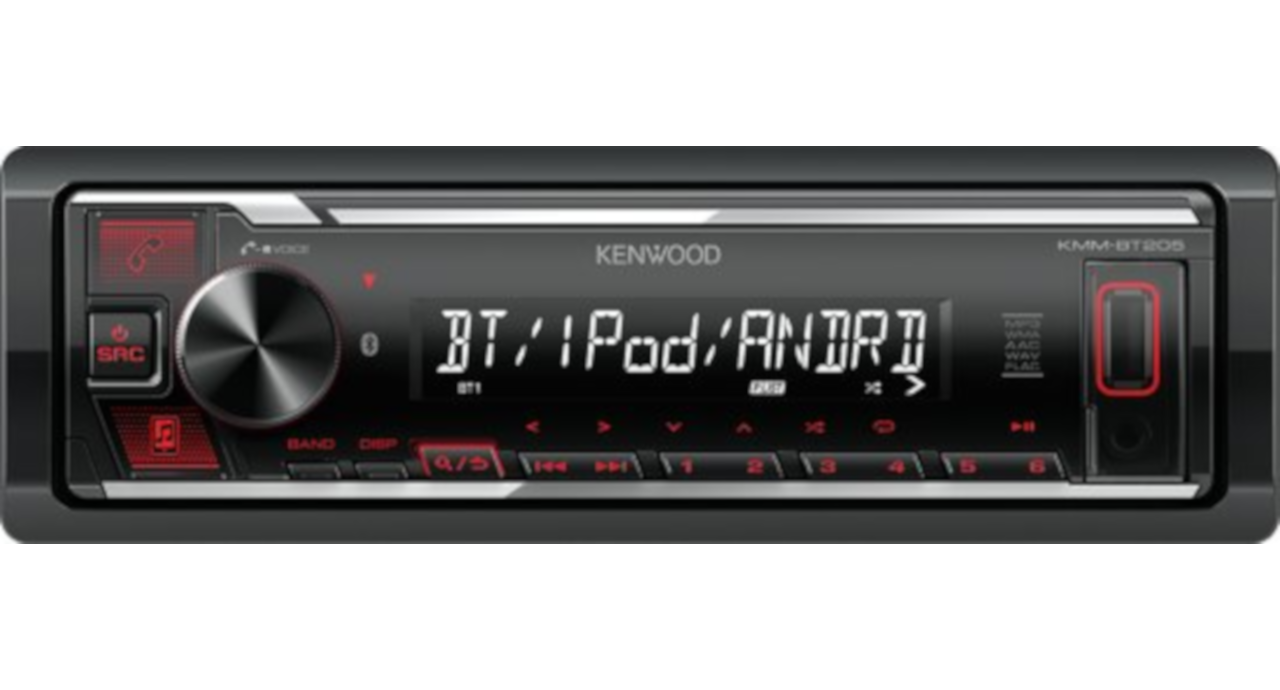 Kenwood KMM-BT205 Digital Media Autoradio