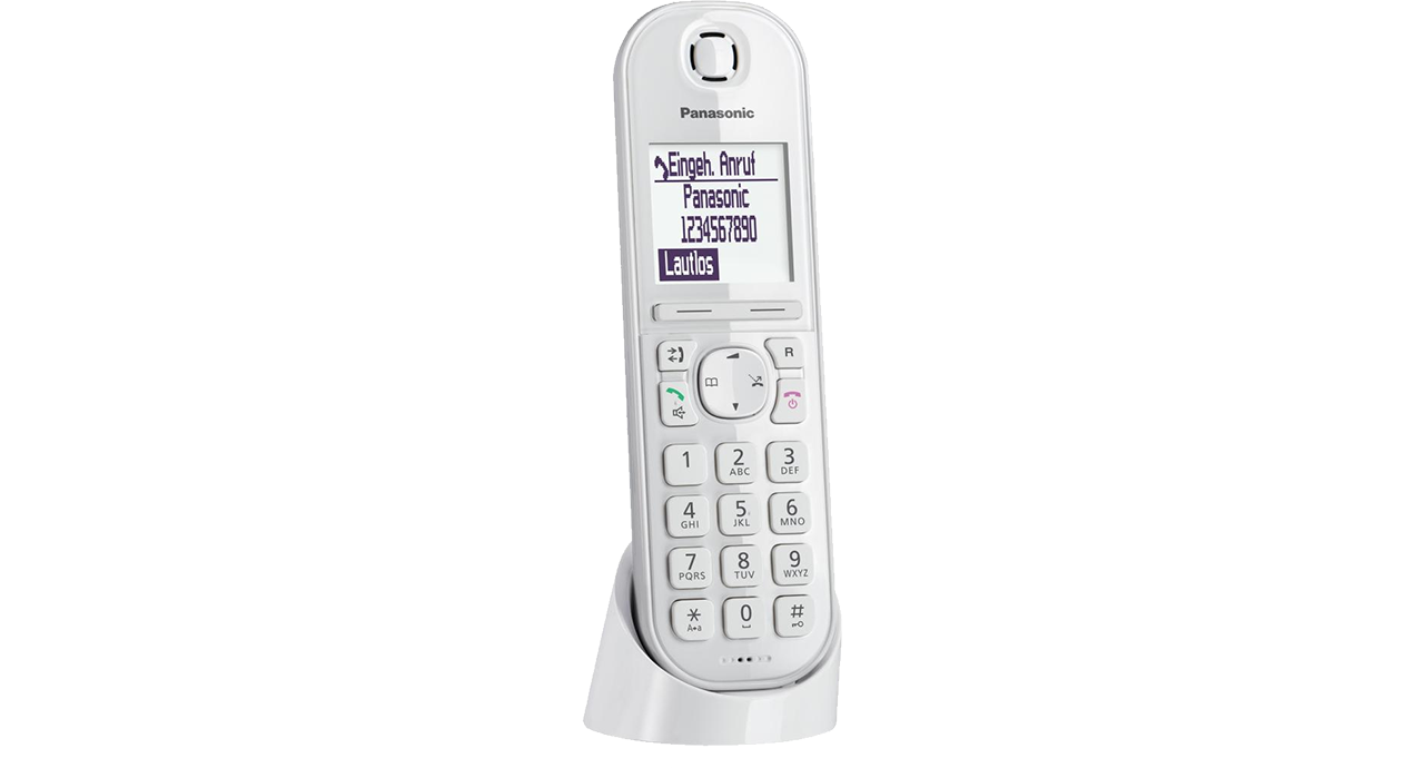 Panasonic KX-TGQ200GW - single DECT Telefoon - Wit