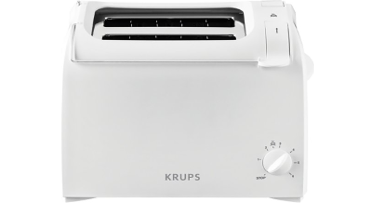 Krups KH1511 ProAroma Broodrooster - 2snede(n) 700W Wit