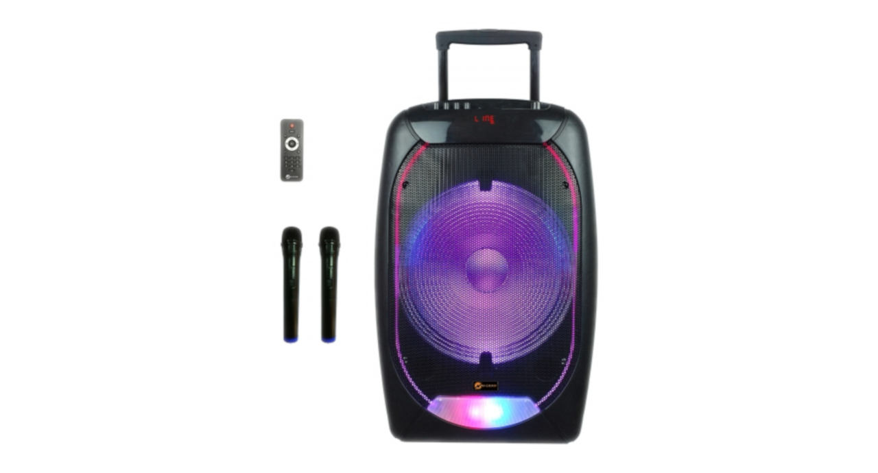 N-Gear The FLASH 1510 - Portable Trolley Bluetooth Speaker