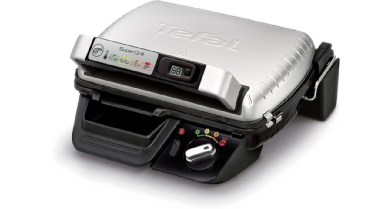 Tefal GC451B12 SuperGrill Contactgril Electrisch 2000W