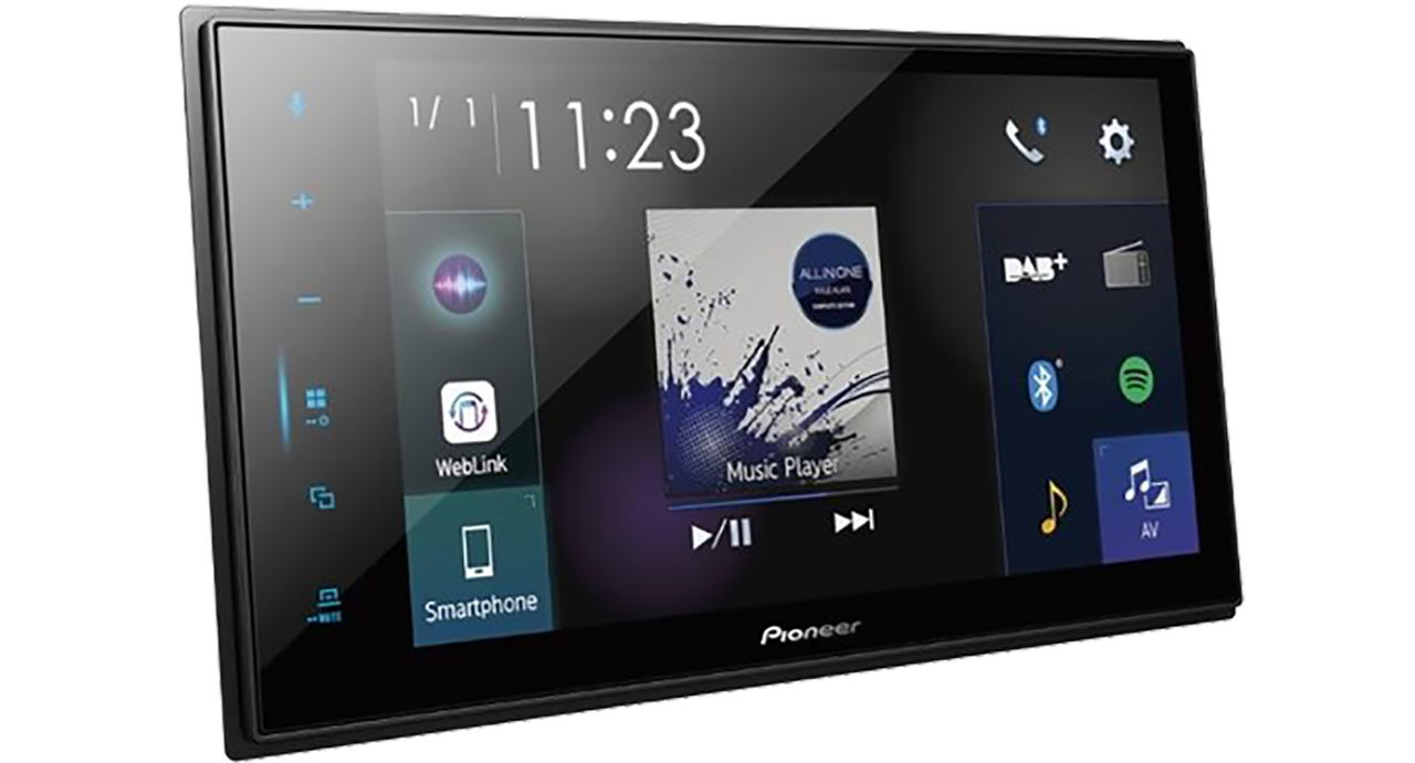 Pioneer SPH-DA250DAB Capacitive touchscreen multimedia player