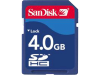 Secure Digital Memory Card, SanDisk, 'SDHC-kaart 4 GB'