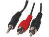 RCA naar Jack (3,5mm) Kabel 5M