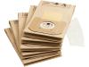 Kärcher Stofzakken A 27xx / A 28xx (5 st) + microfilter