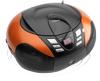 Lenco SCD-37 draagbare AM/FM radio met USB-poort oranje