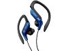 JVC HA-EB75-A - Ear-clip Koptelefoon - Blauw