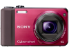 Sony Cyber-shot DSC-HX7V 3D - rood
