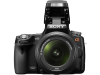 Sony Alpha SLT-A55VY + objectief 18-55 mm + objectief 55-200 mm  Geleverd met Oplader, Lithium accu