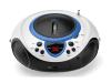 Lenco SCD-38 draagbare AM/FM-radio met USB-poort blauw