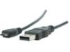 USB 2.0 kabel A male Micro B male 2,00 m grijs (KNC60500E20)