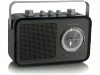 Tangent Uno 2go Draagbare Radio Hoogglans Zwart