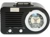 Ricatech PR220 wekker radio nostalgie - Zwart