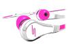 Sms Audio Street by 50 Earbuds SMS-EB Hoofdtelfoon Roze