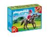 Playmobil Arabisch Renpaard met Paardenbox 5112
