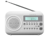 Lenco MPR-033 FM Radio Wit