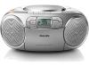 Draagbare radio-cd-speler Philips zilverkleur