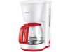 AEG KF3230 Koffiezetapparaat Wit/Rood