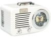 Ricatech PR220 wekker radio nostalgie - gebroken wit