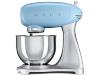 SMEG SMF01PBEU Retro Keukenmachine 4,8 Ltr.Pastelblauw