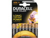 Duracell Batterijen AAA Plus Power Duralock LR03 8 Stuks