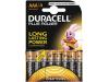 Duracell Batterijen AAA Plus Power Duralock LR03 8 Stuks