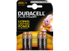 Duracell Batterijen AAA Plus Power Duralock LR03 4 Stuks