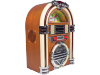 Retro jukebox met AM-FM radio en CD-speler