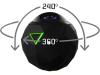 360fly action cam 4K Zwart