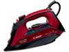 Bosch TDA503011P Stoomstrijkijzer 3000W Zwart, Rood strijkijzer - Prijsvergelijk